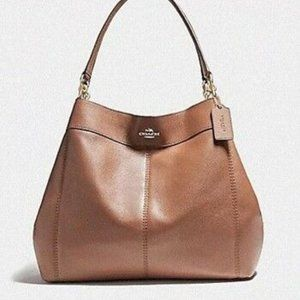 Coach Large Lexy Shoulder Bag, Color:  Saddle